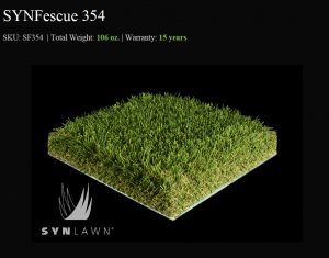 SYNFescue 354