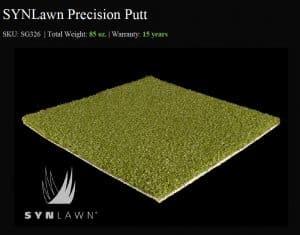 SYNLawn Precision Putt