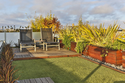 LawnPop Synthetic turf rooftop