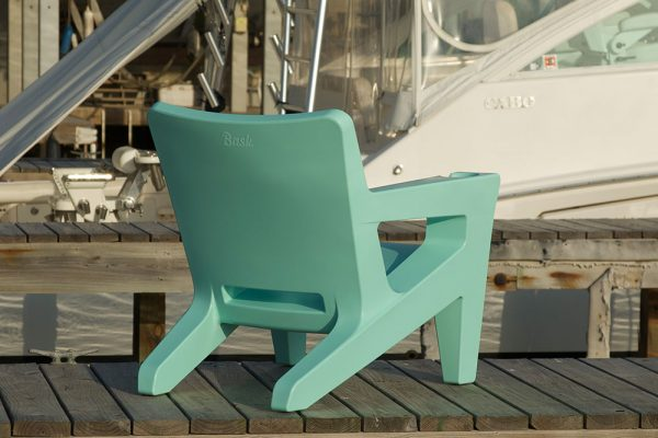 Outdoor Adirondack Chair Close Up Back