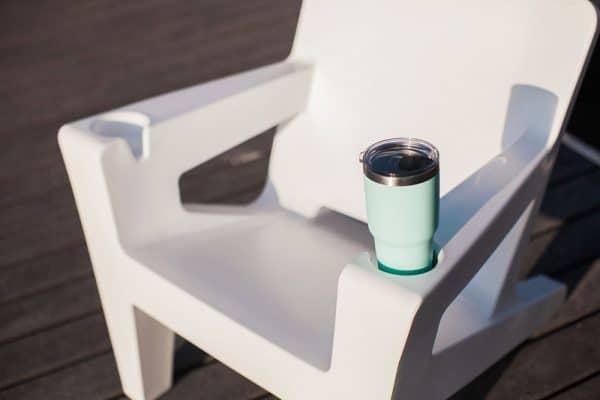 Outdoor Adirondack Chair Fits Yeti