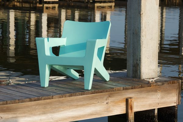 Outdoor Adirondack Chair Seafoam