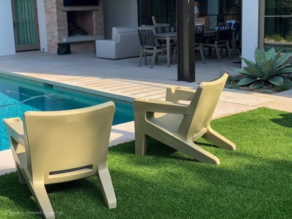 tanning ledge chairs